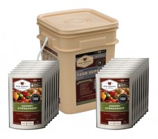 Wise 60 Serving Entree Only Grab and Go Bucket