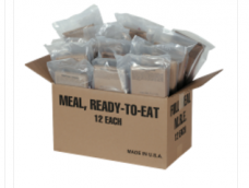 MRE's – (Meals Ready to Eat) Case of 12