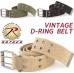Vintage D – Ring Belt