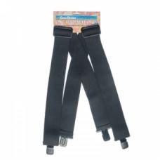 Compleat Angler Sport Wader Suspenders – Black