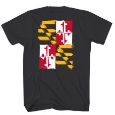 Tee Shirt – MD Flag Distressed