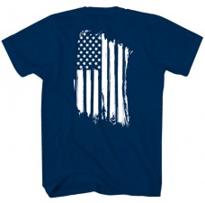 Tee Shirt – Distressed US Flag