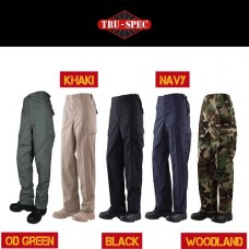 BDU Pants  –  100% Cotton Rip-Stop (Battle Dress Uniform)
