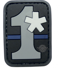 PVC MORALE PATCH - 1ASTERISK