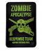 PVC Morale Patch – Zombie Apocalypse