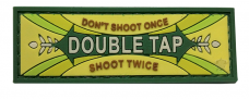 PVC Morale Patch – Double Tap