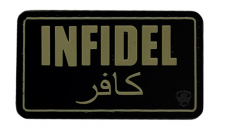 PVC Morale Patch – Infidel