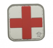 PVC Morale Patch – Red Cross