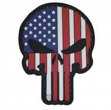 PVC Morale Patch – Patriotic Punisher