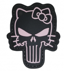 PVC Morale Patch – Punisher Kitty
