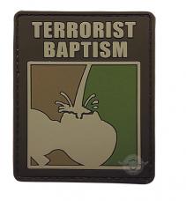 PVC Morale Patch – Terrorist Baptism