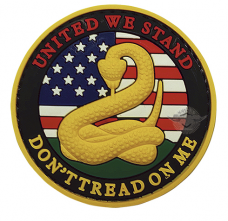 PVC Morale Patch – Don't Tread On Me