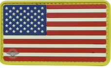 PVC Morale Patch – U.S. Flag