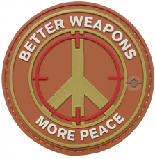 PVC Morale Patch - Better Weapons