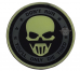 PVC Morale Patch – Glow-Don't Run Ghost
