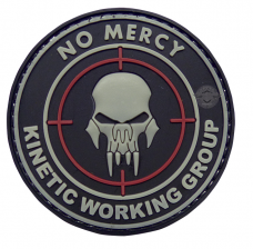 PVC Morale Patch – No Mercy