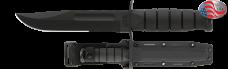 Full-size Black KA-BAR, Serrated Edge