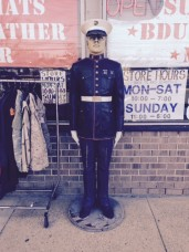 Marine Statue Dress Blues