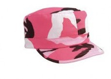Rothco Women's Adjustable Fatigue Cap – Pink Camo