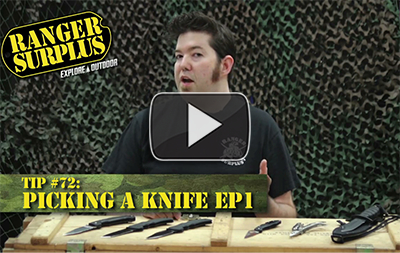 Ranger-Surplus-Tip-72-Picking-a-Knife-Ep1